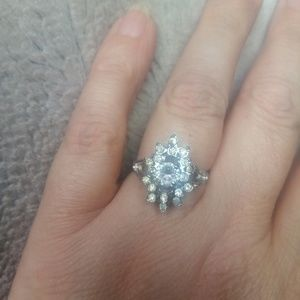Beautiful silver vintage ring